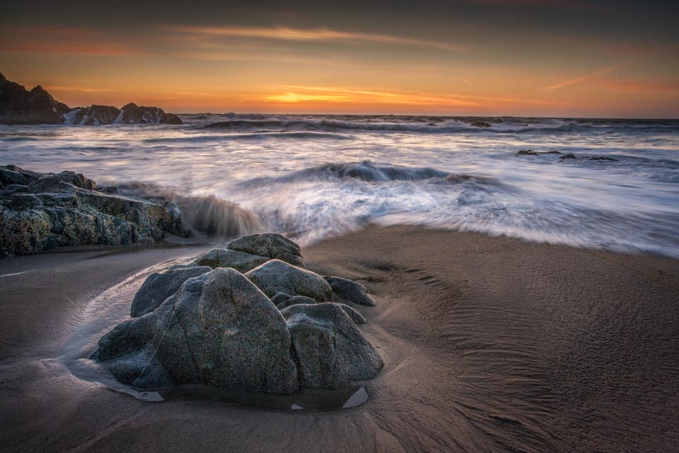 Sunset At McClures Beach - J Gunther Photography