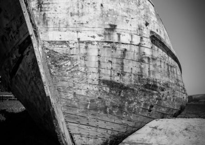"The Wreck ""Point Reyes"" B&W"