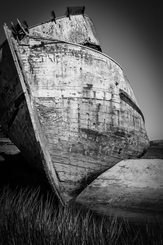 """The Wreck """"Point Reyes"""" B&W"""