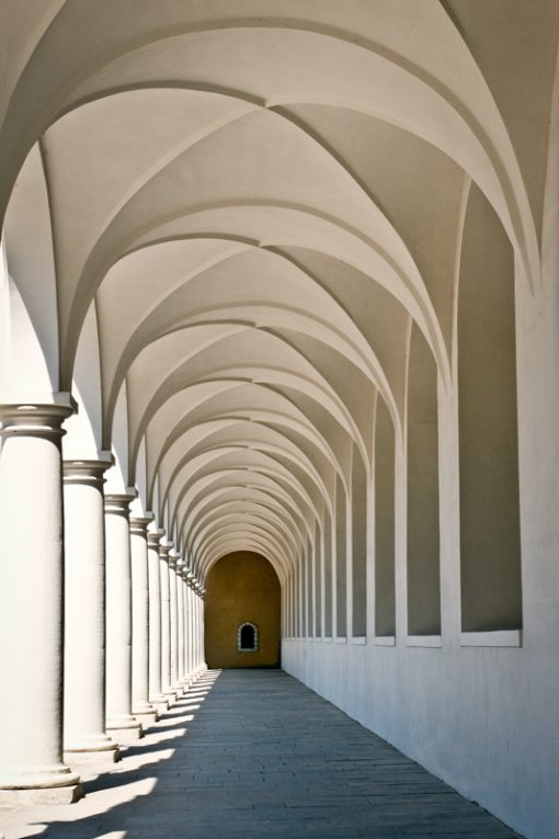 Hall in Old Town - Dresden Germany