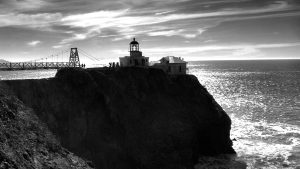 Point Bonita Lighthouse Marin Headlands GGNRA - California
